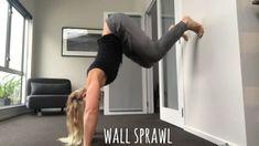 Wall sprawl Exercises, The Originals, Wall, Youtube, Exercise, Walls, Training Exercises