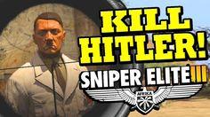 Sniper Elite 3 DLC Killing hitler