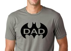 Batman DAD Tee Shirt funny shirt.Dad Shirt by ForeverTees1 on Etsy