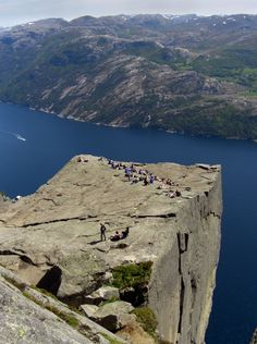 Famous Places To Visit in Norway - Preikestolen (Pulpit Rock) – Ryfylke – Norway