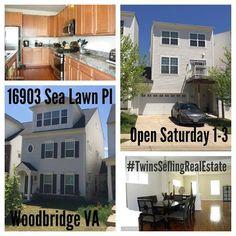 Two Car Garage four bedroom, 3.5 bath home Woodbridge VA under $350,000
