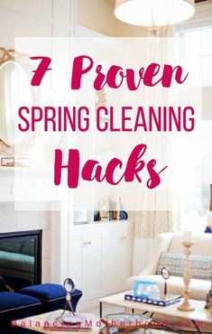 7 proven spring clea