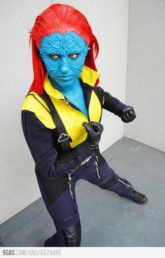 Badass Mystique cosplay (KellyJane)
