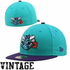 official photos 53981 1a6e6 New Era Charlotte Hornets Team Color Basic 59FIFTY Fitted Hat - Creole Blue