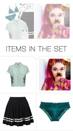 """(HEATHER)"" by chxshire-cat ❤ liked on Polyvore featuring art"