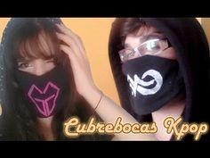 DIY: Cubrebocas KPOP | Pinku & Blaqui - YouTube