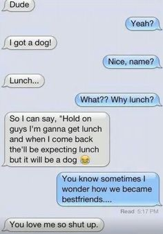 I don't know why but this is really funny ! I am cracking up!!!!!!