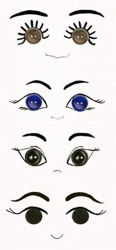 Designs for Doll's eyes