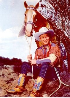 Roy Rogers and Trigger rill good picture
