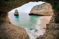 Praia Do Carvalho, Algarve, Portugal /