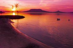 Fonyód, Balaton by Robert Posza - Photo 84399719 - Hungary, Tarot, Celestial, Sunset, Landscapes, Photography, Outdoor, Beaches, World