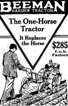 156 best garden tractors lawn mowers and such images antique Gravely Lawn Tractors 1919 beeman garden tractor another ad about tractors doing work monly done by horses
