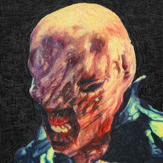 Chatterer by  Taylan Soyturk. #horror #film #movie #art #terror #fanart