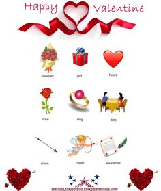 valentine's day esl materials