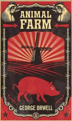 Animal Farm is an allegorical and dystopian novella by George Orwell, first published in England on 17 August 1945.