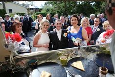 Crepe time outside the church. Very cool idea! Lisloughrey Lodge, Co. Wedding Photography by Gary Barrett. Ireland Wedding, The Outsiders, Wedding Photos, Wedding Photography, Table Decorations, Cool Stuff, Marriage Pictures, Wedding Pictures, Wedding Pictures