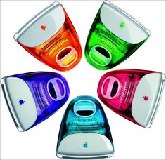 imacs in candy colors--why did it take so long to realize people love color?