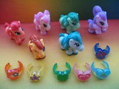 Pony Complete Set Paper Kinder Surprise