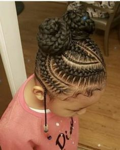 Cornrows Braided Hairstyles Beautiful and Trendy African Braids To Try o., # Braids for kids african Cornrows Braided Hairstyles Beautiful and Trendy African Braids To Try o. Lil Girl Hairstyles, Black Kids Hairstyles, Girls Natural Hairstyles, Kids Braided Hairstyles, Box Braids Hairstyles, Protective Hairstyles, Hairstyles Videos, Protective Styles, Hair Videos