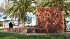 Federico Assler - Parque de los Reyes Reyes, Plants, Ceramic Art, Parks, Shapes, Sculptures, Architecture, Colors, Planters
