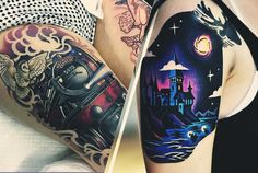 Awesome 'Harry Potter' Tattoo Inspiration