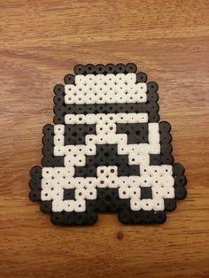 Stormtrooper perler beads by TommyValkonen on deviantart