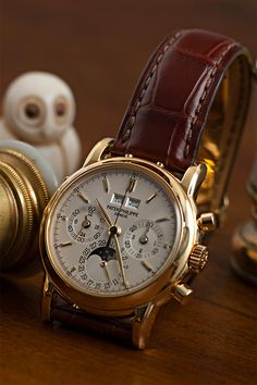 Patek Philippe. Click here to visit my Facebook page:https://www.facebook.com/PreppyOrNotPreppy