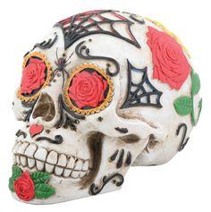 Day of the Dead Tattoo Sugar Skull Statue