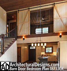 Barn doors for loft