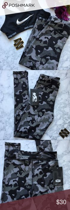 S2 Sportswear Black White Camo Leggings Tight Fit . STAY Cool . 90% Polyester 10% Spandex . Bundle and save S2 Sportwear Pants Leggings