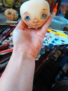 Роспись лица текстильной куклы: 1000 и первый способ - Ярмарка Мастеров - ручная работа, handmade