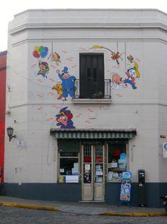 Decorado de Balcarce al 200 #Comic #Argentino #SanTelmo