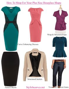 SHOPPING: HOW TO DRESS YOUR SHAPE WHEN YOU'RE PLUS SIZE (PART I) :: Stylish Curves
