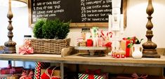 This Holiday Girls day is a great party idea for gift wrapping and preparing for the holidays!