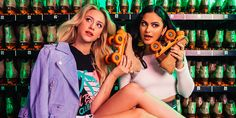 """Riverdale"" Stars Lili Reinhart and Camila Mendes on Their New Life in the Spotlight - Cosmopolitan.com"