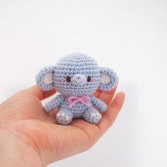 Crochet Doll Amigurumi Pattern Elephant GGoMa series toy