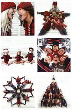 gap ads, but cute for family Christmas photo (the snowflake or tree)