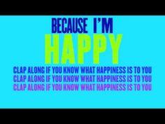 Pharrell Williams - Happy (Lyric Video)