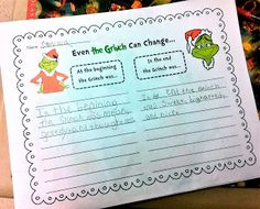 The Grinch movie vs. How The Grinch Stole Christmas book comparison FREEBIE Christmas Writing, Christmas Books, Kids Christmas, Christmas Crafts, Xmas, Grinch Christmas Party, Grinch Who Stole Christmas, Holiday Fun, School Holidays