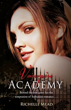 what can I say I'm into the supernatural...Vampire Academy AMAZING series