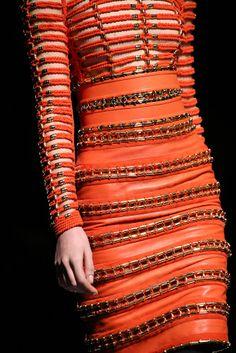 Balmain - Paris Fashion Week - Otoño Invierno 2014/2015 - Fashion details