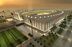 Football Stadiums, Al-Menaa/Najaf in Iraq
