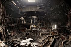Disco Inferno: Explore an Abandoned Nightclub Destroyed by Fire