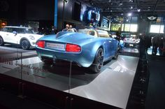 Perhaps the most remarkable feature of the Superleggera Vision is its rear fin (Photo: C.C...