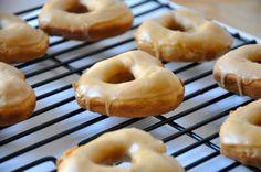 Baked Vegan Biscoff Donuts