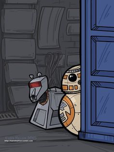 DOCTOR WHO / STAR WARS crossover