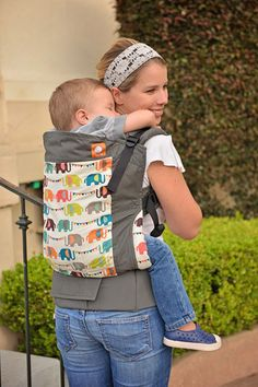 Elephant Parade - Tula Toddler Carrier