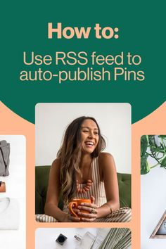 How to auto-publish Pins from your RSS feed Content Marketing, Online Marketing, Social Media Marketing, Digital Marketing, Rss Feed, Blogging For Beginners, Blogging Ideas, Pinterest For Business, Pinterest Marketing