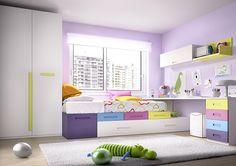 La #habitación infantil es el lugar donde los más pequeños dormirán, jugarán y harán sus deberes. Sigue estos consejos para que no te falte de nada al decorarlo