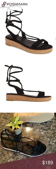 902112ceca2 Frye Miranda Gladiator Sandals Frye Miranda Gladiator Sandals Slightly  sloped sandal lifts a simple gladiator by